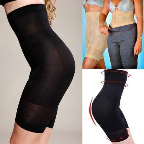UK Lady Tummy Control Shapewear For Women Waist Training Panty Thigh Slim Shorts