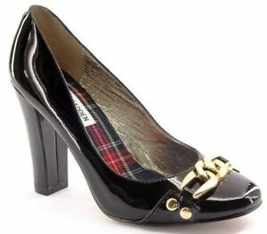 best website e9846 14f69 Details about New STEVE MADDEN Women Black Patent Leather High Heel Pump  Dress Shoe Sz 7.5 M
