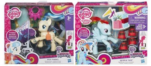 My Little Pony Rainbow Dash tourisme et Miss pommeau Runway SHOW ~ NOUVEAU