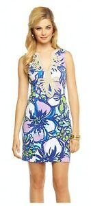 Lilly-Pulitzer-Janice-Knit-Shift-Dress-Spectrum-Blue-Catwalk-MSRP-188