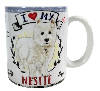 I Love my Boston Terrier Dog Mug Dye Sub Ceramic Mug 8OZ
