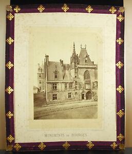 Bourges Palais Jacques-Cœur 1870 Photographe Médéric Mieusement Fretillé loiseau yjVeyKQg-09164928-855020628