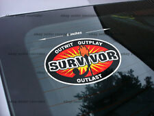 survivor sticker decal tv show *free shipping