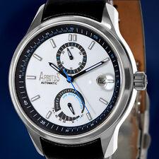 "New Arbutus™: New York ""Rockefeller"" Series, Automatic Power Reserve Watch [NIB]"