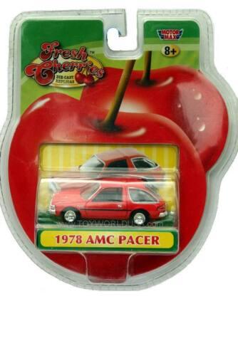 Motormax Fresh Cherries 1978 AMC PACER drk orange