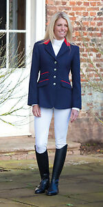 Shires-henley-ladies-competition-show-jacket-navy-black-showing-all-sizes