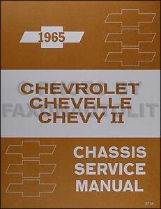 1965 chevrolet shop manual 65 ss malibu el camino chevelle nova rh ebay com chevelle repair manual chevrolet shop manual download