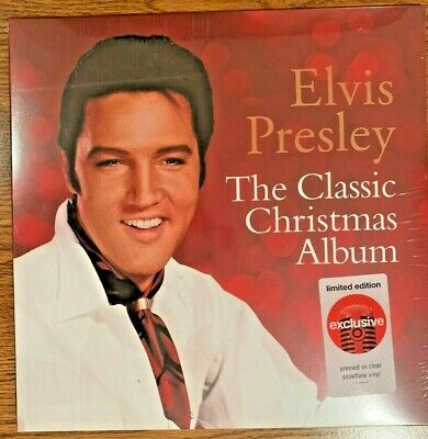 Elvis Presley Classic Christmas Album Limited Edition Clear Snowflake Vinyl Lp Ebay