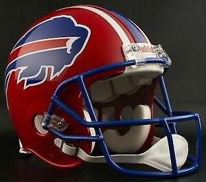 3c35eb35 Buffalo Bills 1984-1986 Riddell Authentic Throwback Football Helmet NFL