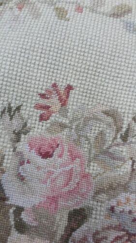 """16/"""" Square Needlepoint-petitpoint Pillow Sham avec pampilles DM16D Lumière Tapioca"""