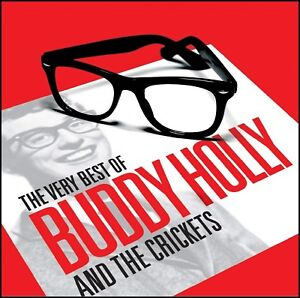 BUDDY-HOLLY-2-CD-VERY-BEST-OF-THE-CRICKETS-THAT-039-LL-BE-THE-DAY-50-039-s-NEW