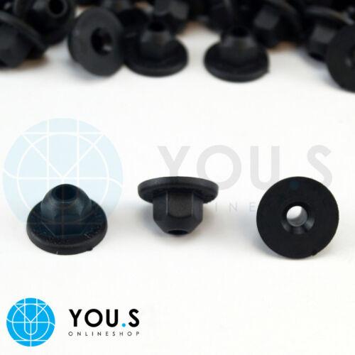 10 x Kunststoffmuttern Halterung Muttern für VW /& AUDI 171201989 NEU