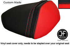 RED & BLACK VINYL CUSTOM FITS KAWASAKI Z750 07-12 & Z1000 07-09 REAR SEAT COVER