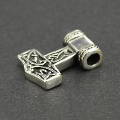 Thors Hammer klein Anhänger 925 Silber Mjölnir Thor Odin Wikinger Viking as151 | eBay