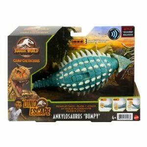 Jurassic World Camp Cretaceous Roar Attack Ankylosaurus Bumpy Figure Dino Escape