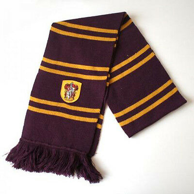 Harry Potter Gryffindor Slytherin Ravenclaw Hufflepuff Winter Schal Tuch
