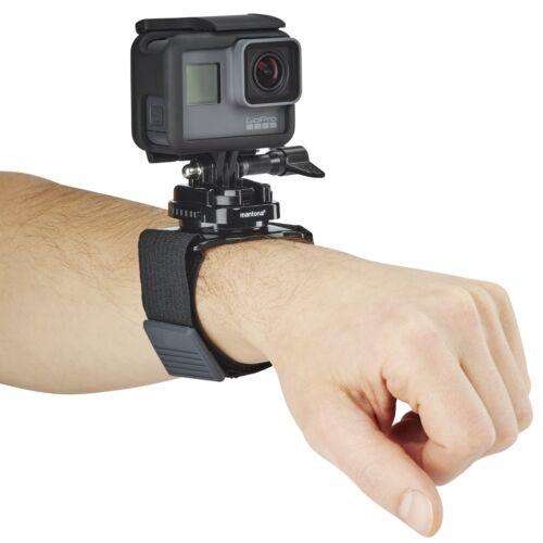 Accesorios Para Cámaras De Video Y Fotográficas Mantona Armgurt 360 Gopro De Sujeción Rápida Soporte Gopro Hero 5 4 3 Entre Otros 3 Session Oranjegaryp