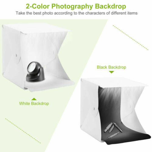40 LED Light Mini Photography Tent Mini Portable Folding Photo Studio Kit Box