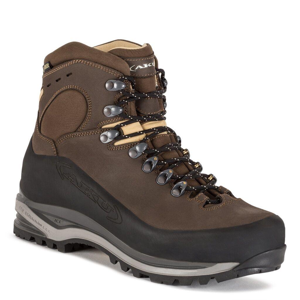 AKU Trekkingstiefel SUPERALP NBK GTX brown  - Goretex  - 592 050