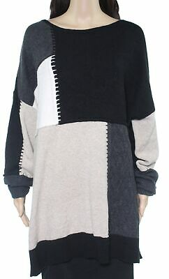 Womens Sweater Purple Gray Size 1X Plus Jacquard Floral $69 077 Style /& Co