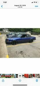 1986 Ford Mustang  Convertible For Sale