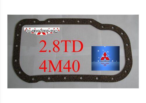 COPPA dell/'olio Guarnizione sughero alta qualità!! PAJERO DELICA SHOGUN Challenger 4m40t 2.8 TD