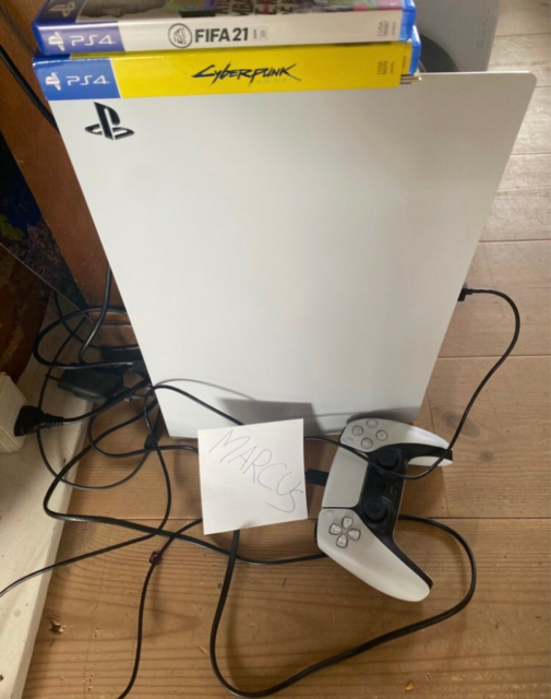 Playstation 5, Disc version 825GB, Perfekt, Hej folkens…