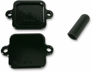 05-01351-22 Hayabusa Powerstands Racing PSR Smog Block Off Plates Black
