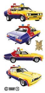 Mad-Max-XB-Yellow-Interceptor-Pursuit-MFP-Main-Force-Patrol-sticker-4-MEDIUM
