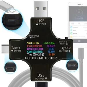 PD-USB-tester-DC-Digital-voltmeter-current-voltage-Type-C-meter-amp-charger