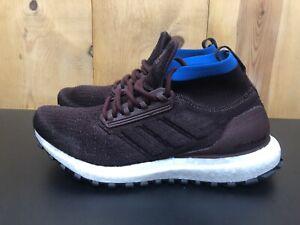 Adidas UltraBoost All Terrain Running Shoes Night Red Blue