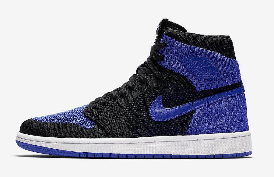 Hombre Nike Air negro Jordan 1 Flyknit Royal negro Air / azul / Blanco Precio de temporada corta, beneficios de descuentos 220a6e