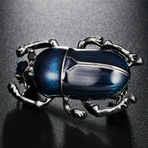 3D Tier Emaille Strass Anstecknadel Kristall Perle Brosche Brooch Pins Libelle