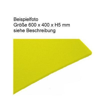 33,13€/m² PE Schaumstoff Farbe gelb - Schaumstoffeinlagen u.a. selbst herstellen