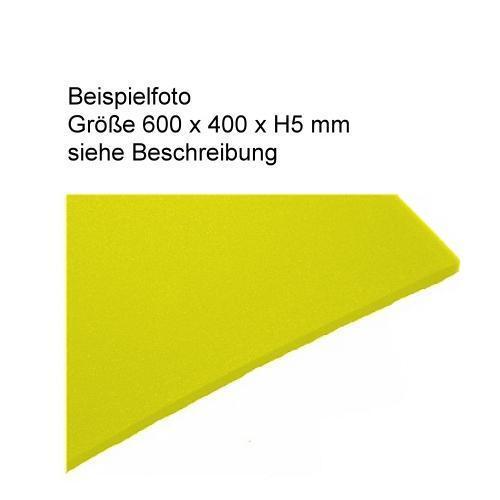 53,96 €//m² PE Foam Colour Yellow-Foam Pads including Self Manufacture