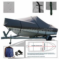 Skeeter Sx 180 Dual Console Trailerable Bay Fishing Boat Cover Grey
