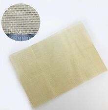 Coarse Brass Woven Wire Mesh - 1mm Hole - A4 Sheet 210 x 300mm