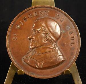 Medaglia-San-Vincent-Della-Paul-a-Tanquerel-Della-Panissais-Punzone-Pipa-Medal