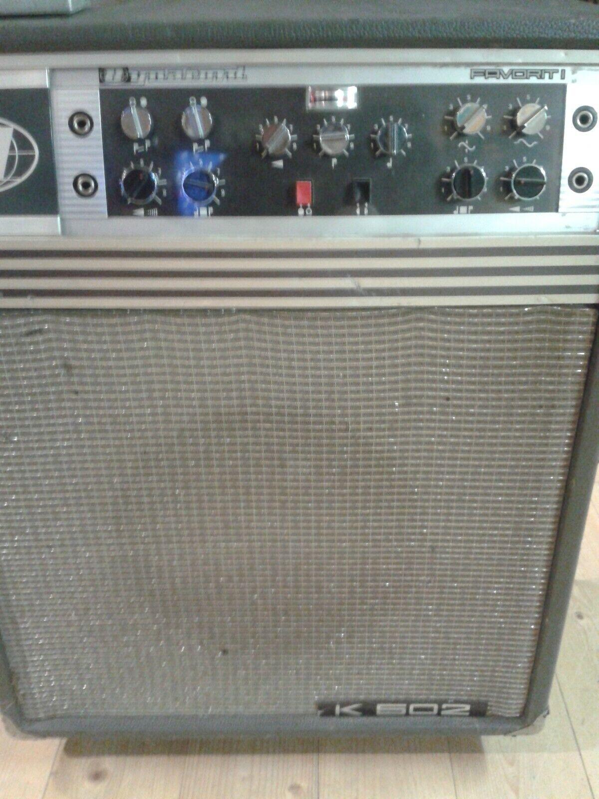 Dynacord K 502 de 1967 très rare