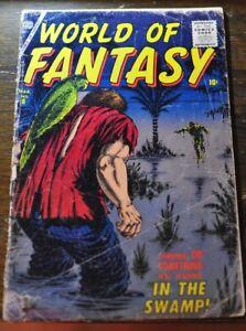 Details about World of Fantasy #6, Atlas Comics 1957 pre code horror Good