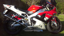 Yamaha R1 98-02 SP Engineering Carbon Fibre Round Big Bore XLS Exhaust