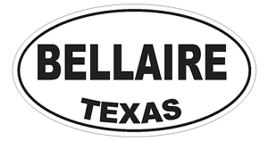TX Texas Oval Bumper Sticker or Helmet Sticker D763 Euro Oval with Flags