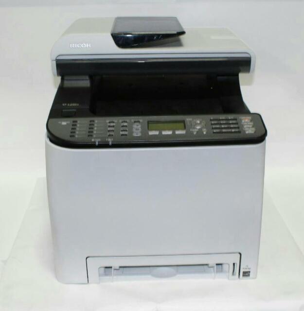 Ricoh C250SF Color Multifunction Laser Print - 407523