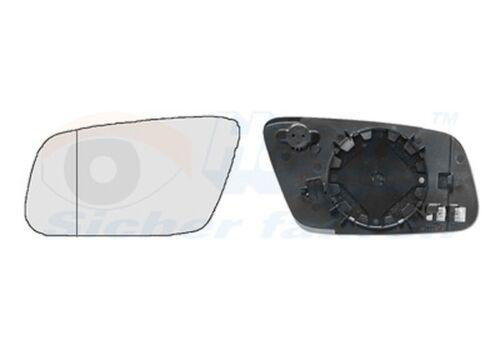 VAN WEZEL glace polie miroir extérieur 0317837 pour Audi Gauche Asphärisch HAGUS