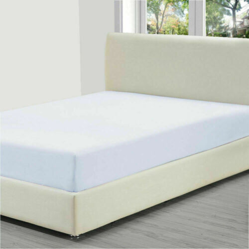 """fitted sheets 13/"""" box polycotton 21 colours Small emperor 6ft 6/"""" 200cm x 200cm"""