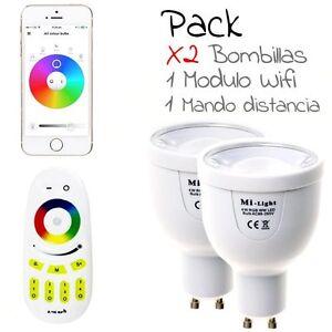 HALOGENO-LED-Wifi-RGB-4W-Cambia-COLOR-inteligente-modulo-wifi-mando-WIFI