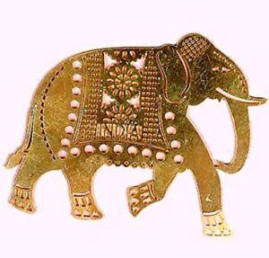 2 5 India Souvenir Fridge Magnet Elephant Brass Home Decor Gifts