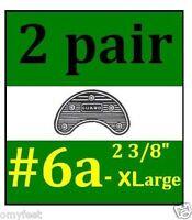 2p Guard Shoe Boots Heel Toe Plates Taps Nylon Shoe Sole Protection 6a Xl 2 3/8