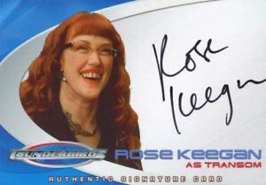 Thunderbirds Are Go Movie Rose Keegan Autograph Card Ac9 Ebay