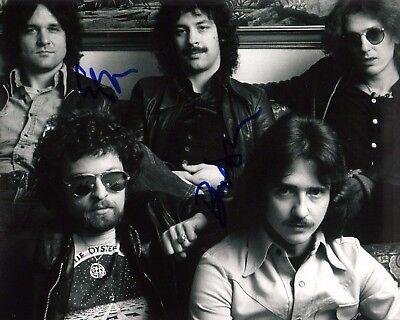 Gfa Eric Bloom & Buck Dharma Blue Öyster Cult Signed 8x10 Photo Ad1 Coa Profit Small